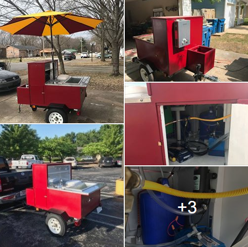 Used hot dog cart for sale in Bentonville, AR