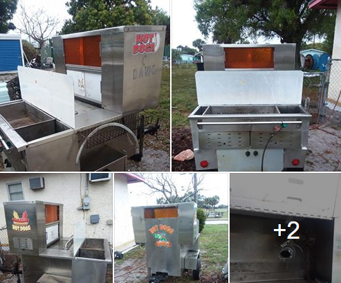 Used hot dog cart for sale in Fort Pierce, FL