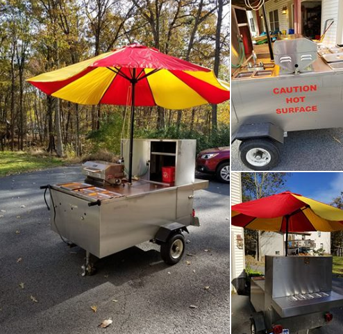 Used Hot Dog Cart For Sale In Hawley, PA