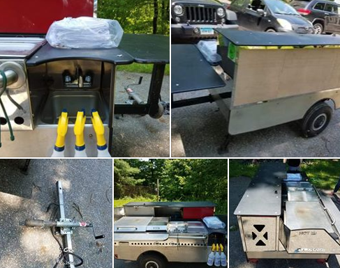 Used Hot Dog Cart For Sale In Weston, CT