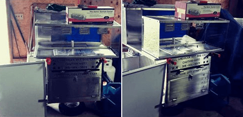 Used Hot Dog Cart For Sale In Holly Springs, North Carolina