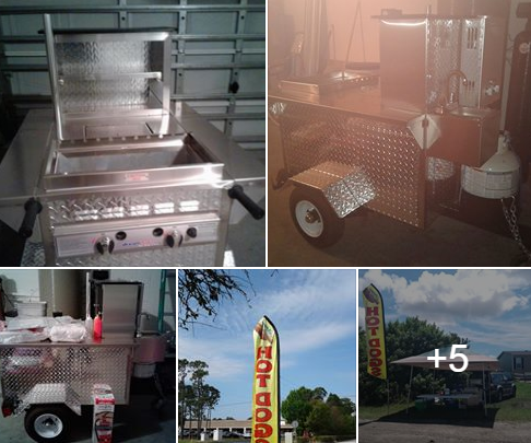 Used Hot Dog Cart For Sale In Palm Bay, FL