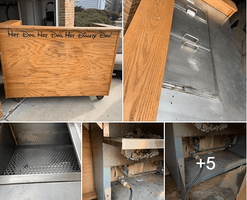Used Hot Dog Cart For Sale In Park Ridge, Illinois
