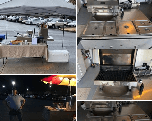 Used Hot Dog Cart For Sale In Bellview, Florida