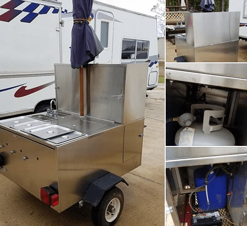 Used Hot Dog Cart For Sale In Broussard, LA