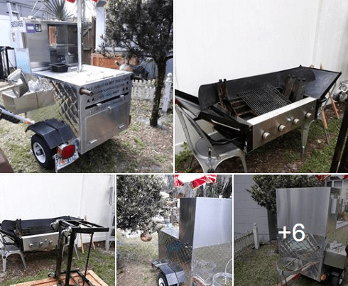 Used Hot Dog Cart For Sale In Eustis, Florida