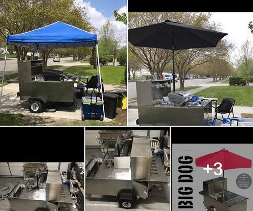 Used Hot Dog Cart For Sale In Norfolk, VA