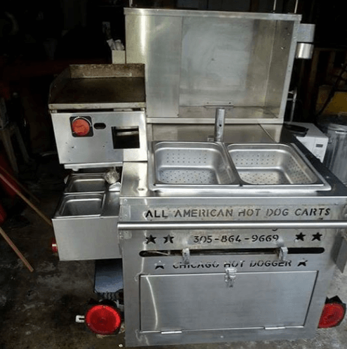 Used Hot Dog Cart For Sale In Rockford, Illinois