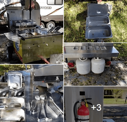 Used Hot Dog Cart For Sale In Alvin, TX