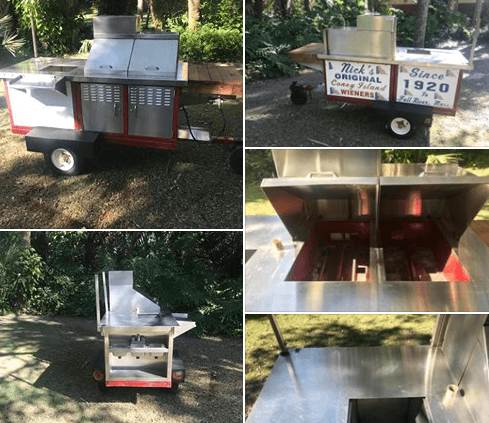 Used Hot Dog Cart For Sale In Melbourne Beach, FL