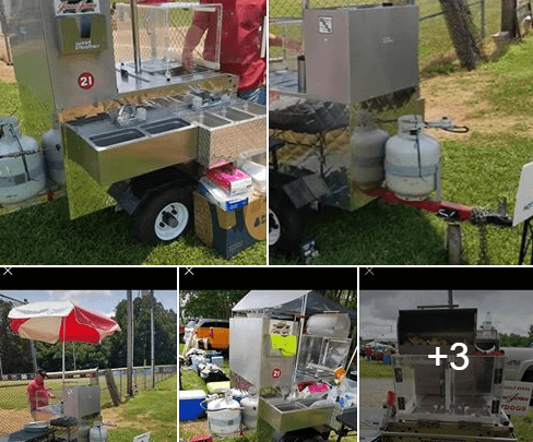 Used Hot Dog Cart For Sale In North Wilkesboro, NC