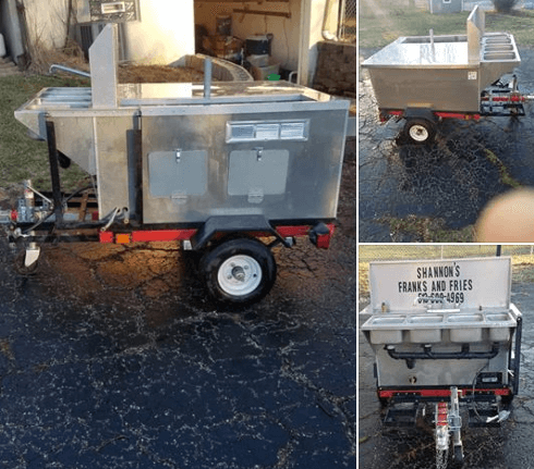 Used Hot Dog Cart For Sale In Cincinnati, Ohio