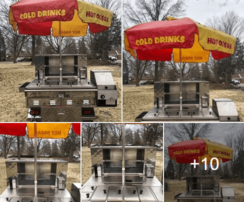 Used Hot Dog Cart For Sale In Dayton, OH