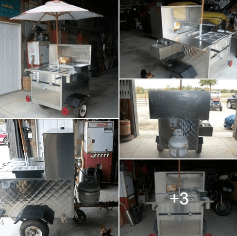 Used Hot Dog Cart For Sale In Enterprise, Alabama