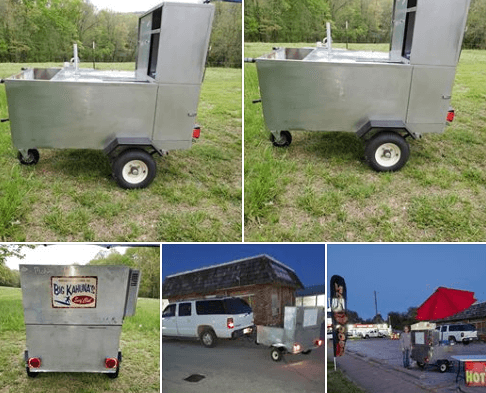 Used Hot Dog Cart For Sale In Anderson, MO | By Hotdogcartforsale com