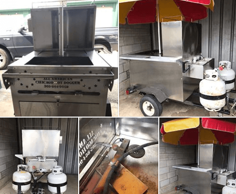 Used Hot Dog Cart For Sale In Newburgh, NY